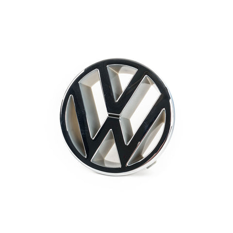 OEM Chrome VW Badge - late MK1(Cabriolet) / MK2 / MK3