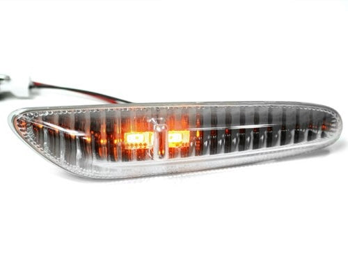 BMW E90/E92/E60/E82 LED Side Markers (Crystal Clear)