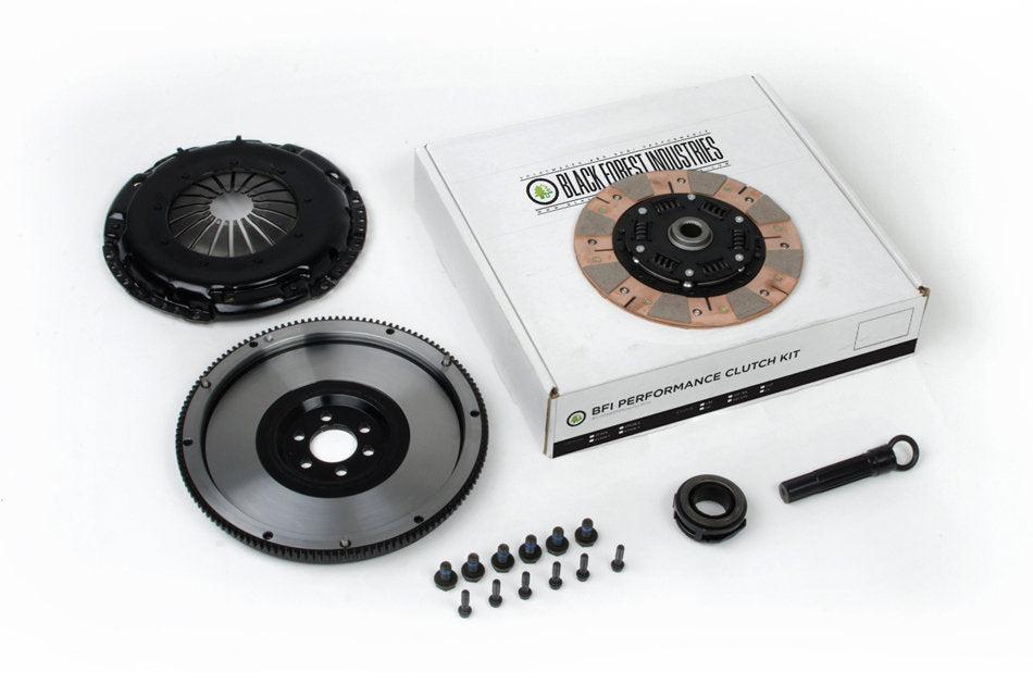 BFI 1.8T / G60 228mm Clutch and Billet Lightweight Flywheel Kit - Stage 3 (02A / 02J)