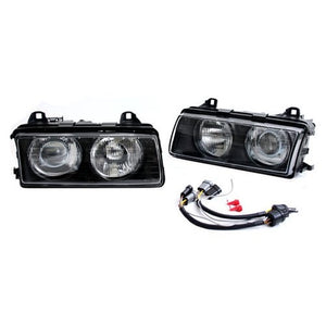 BMW E36 ZKW-Style Projector Headlights (Velocity Nipple Lens)