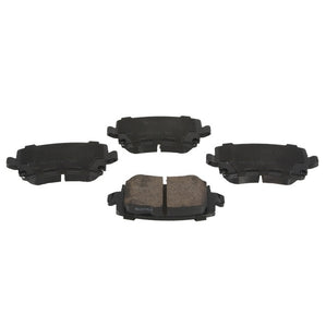B7 A4 Akebono Euro Ceramic Brake Pads (Rear)