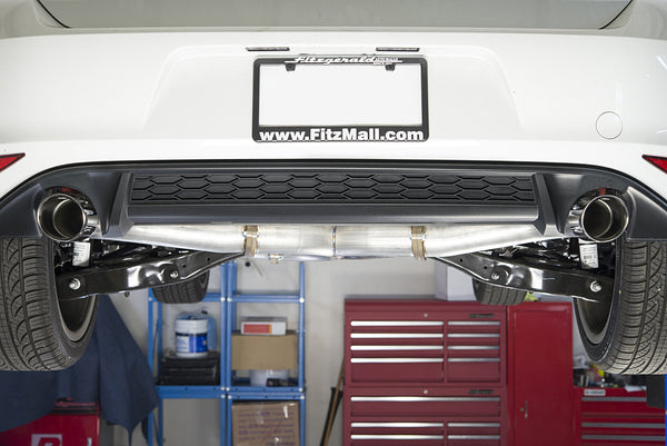 "42 Draft MK7 2.0T TSI 3"" Cat-Back Exhaust System"