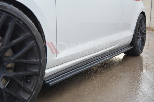 Maxton Design MK7 GTI Side Skirt Diffusers