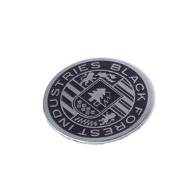 Black Stainless BFI Crest Coin for Heavy Weight Shift Knobs
