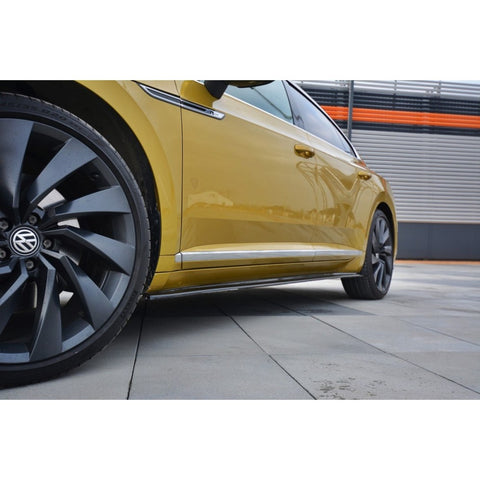 Maxton Design VW Arteon R-Line Side Skirt Diffusers