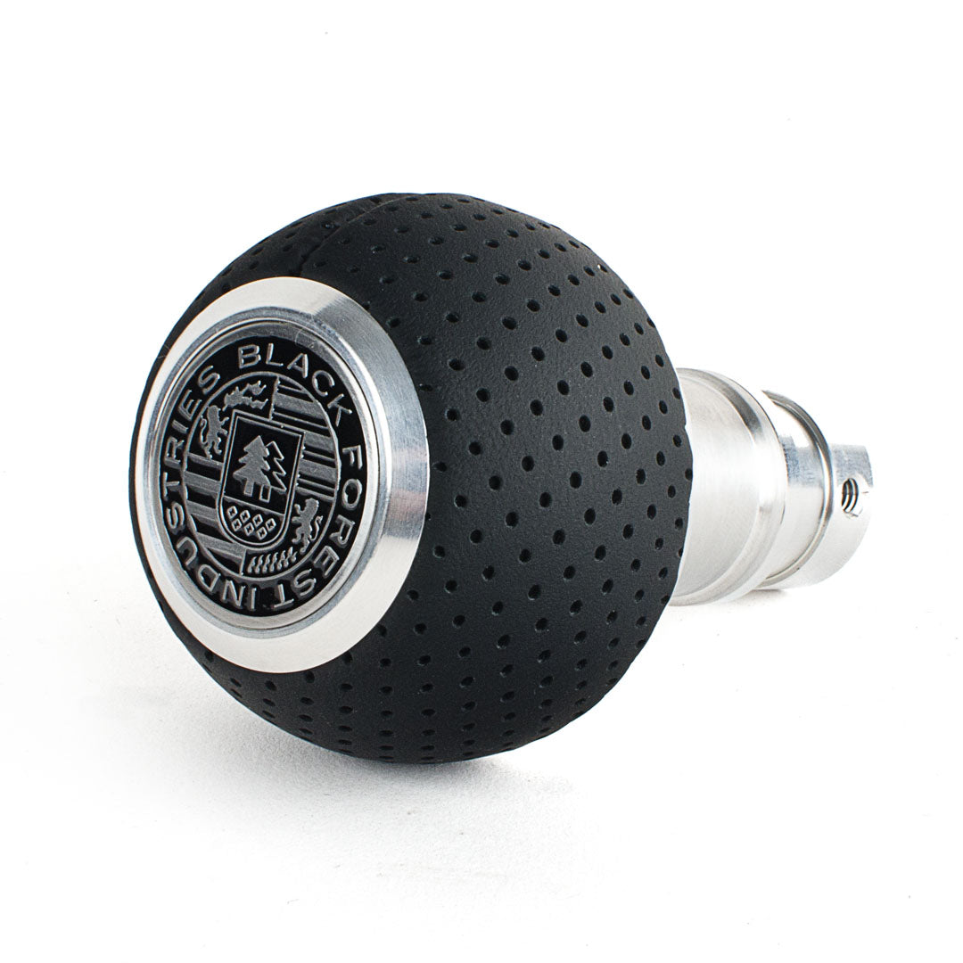 BFI GS2 Heavy Weight Shift Knob - Air Leather (981 / 991+ Porsche Fitment)