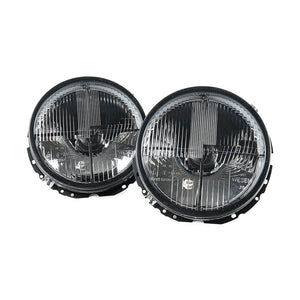 MK1 Cross-Hair Headlights - Faceted OE Style (Pair)