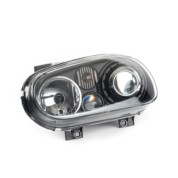 MK4 Golf Projector Headlights (Black)
