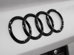 OEM Black Audi Ring Set for B9 (8W) A4/S4/Allroad