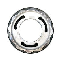 Genuine BBS RC / RSII Hex Nut Assembly (Silver - 58mm)