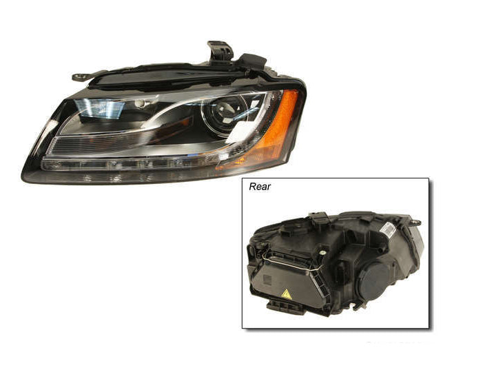 B8 A5 Driver's Side Headlight- Non Adaptive