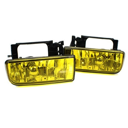BMW E36 Fog Lights (Crystal Yellow)