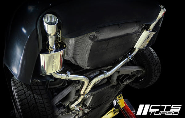 CTS Turbo B8 A4 2.0T Cat Back Exhaust