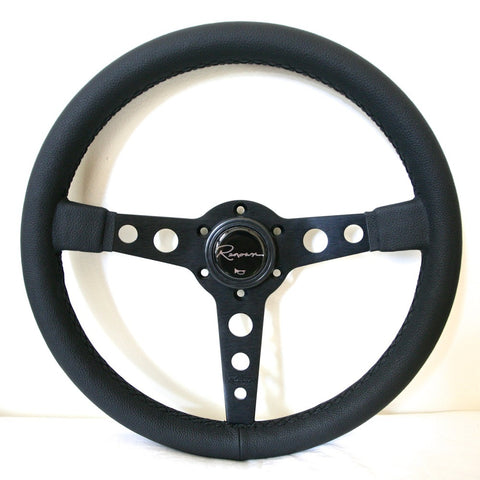 Renown Monaco Steering Wheel - Black Stitching