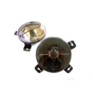 "MK1/MK2 5.25"" Smoked Crosshair Inner Lights (Pair)"