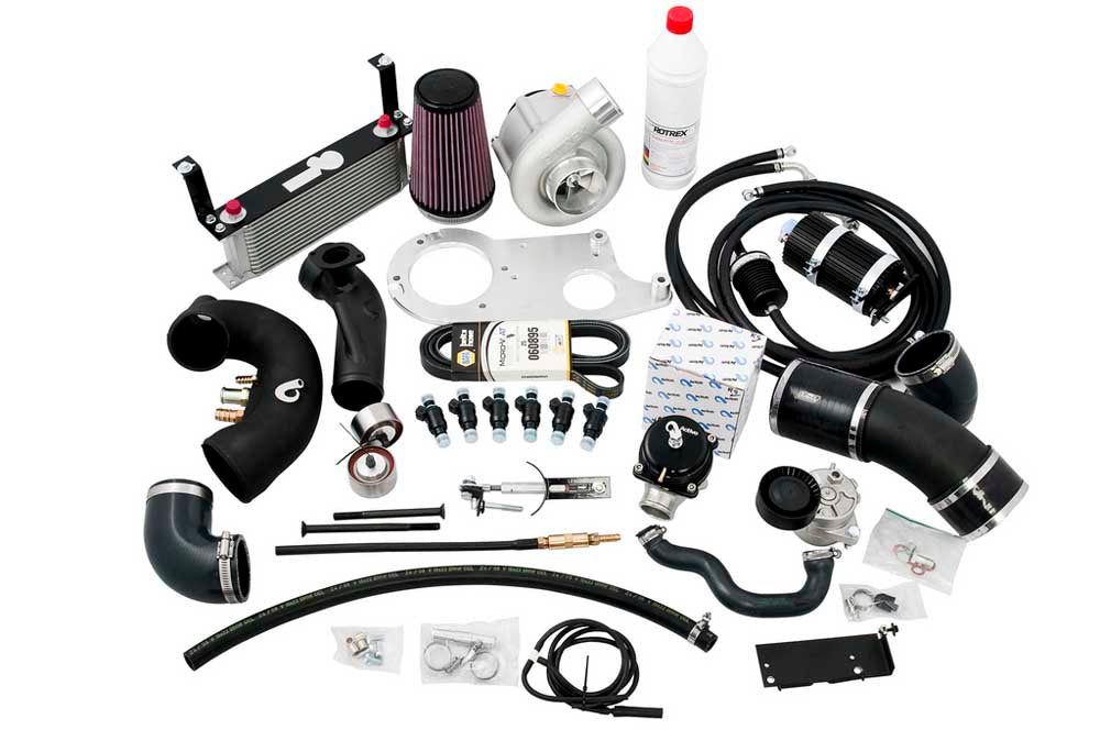 Active Autowerke BMW E36 M3 S/C Kit w/ Rotrex C38-81 Blower Level 1