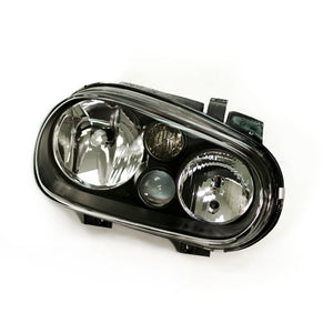 MK4 Golf Smoked E-code Headlights (w/ Fogs)