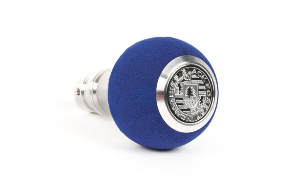 BFI GS2 Heavy Weight Shift Knob - Blue Alcantara (VW/Audi Fitment)