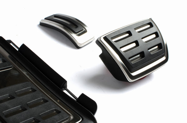 Genuine Audi A3 Sedan Stainless Steel Pedal Caps