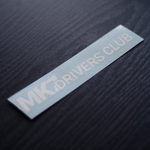 MK7 International Drivers Club Decal