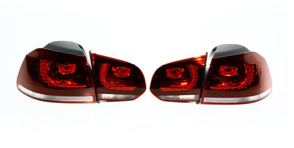 MK6 OEM Tinted LED Taillights (with Rear Fog)