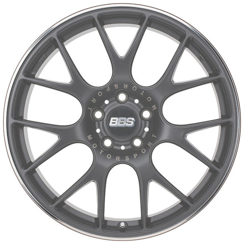"Genuine BBS CH-R Stainless Steel Rim Guard (19"")"