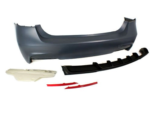 BMW F30 3-Series Full M-Performance Style Kit (w/ PDC Brackets)