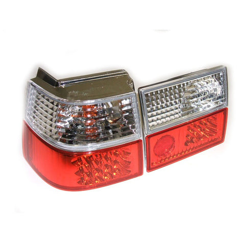 Corrado LED Taillights (Clear/Red)