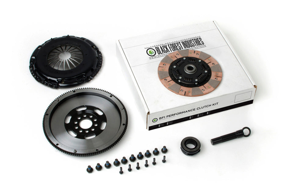 BFI VR6 228mm Clutch and Billet Lightweight Flywheel Kit - Stage 3 (02A / 02J)
