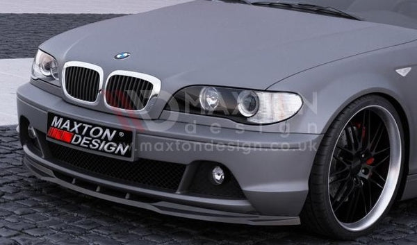 Maxton Design BMW E46 Coupe FACELIFT Spoiler / Splitter