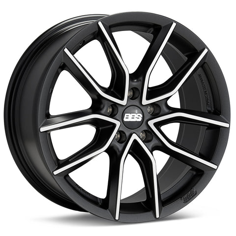BBS XA 18x8.5 5x120 et35 Black/Machined