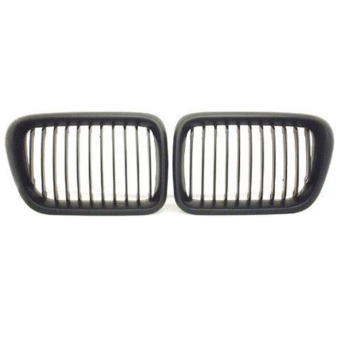 BMW E36 Black Kidney Grilles (1997-1999)