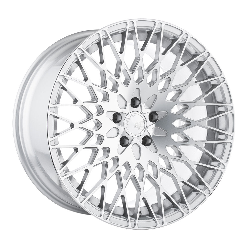AvantGarde M540 18x8.0 5x100 et30 57.1CB - Silver Machined