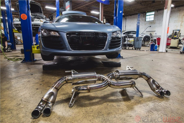 Eurowise AUDI R8 V8 4.2L Resonated Exhaust System