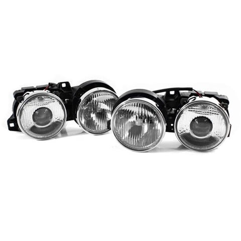 BMW E30 Euro-Spec Elipsoid Projector Headlights