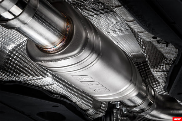APR MK7 GTI Front Muffler (Optional)