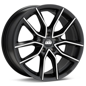 BBS XA 19x8.5 5x120 et32 Black/Machined