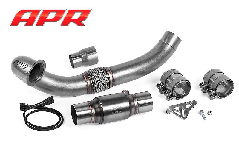 APR Cast Downpipe System for FWD Gen 3 1.8T & 2.0T