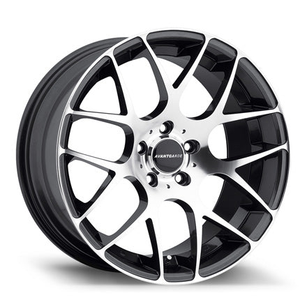 AvantGarde M310 18X9.0 5X100 et30 - Gunmetal Machined