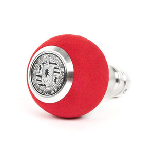 BFI GS2 Heavy Weight Shift Knob - Red Alcantara (BMW Fitment)