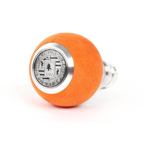 BFI GS2 Heavy Weight Shift Knob - Orange Alcantara (VW/Audi Fitment)