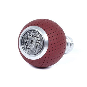BFI Heavy Weight Shift Knob - Magma Red Air Leather (VW/Audi Fitment)