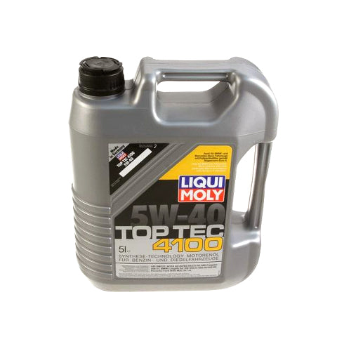 Liqui Moly TopTec 4100 5W40 Synthetic Oil (5 Liter)