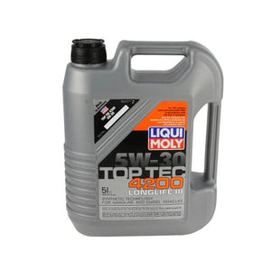Liqui Moly Toptec 4200 5W30 Synthetic Oil (5 Liter)