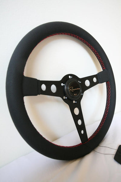 Renown Monaco Steering Wheel - Dark