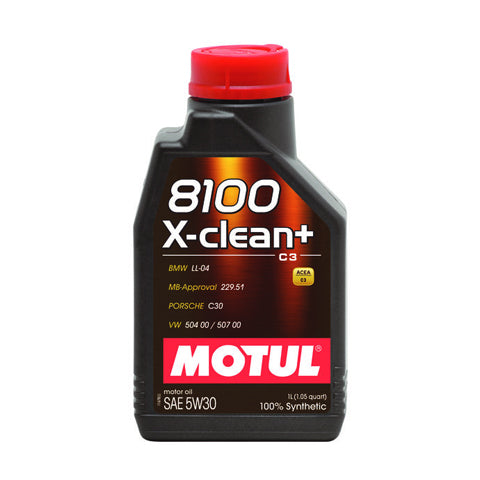 Motul 5W30 8100 X-clean+ Synthetic Oil
