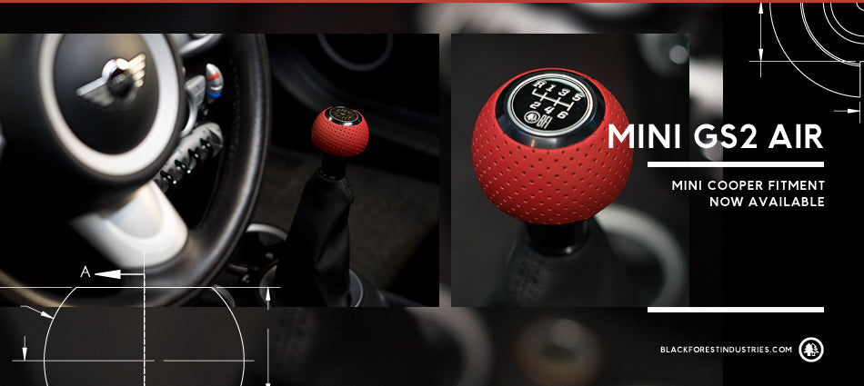BFI Heavy Weight Shift Knob - Full Billet (Mini Fitment)