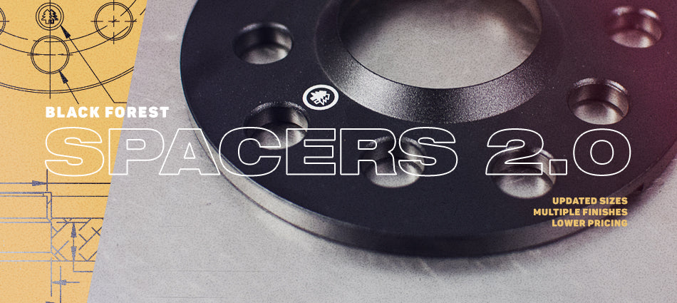 VW Audi Wheel Spacers