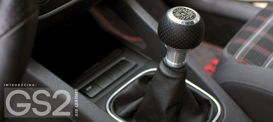 BFI Heavy Weight Shift Knob - Air Leather (VW/Audi Fitment)