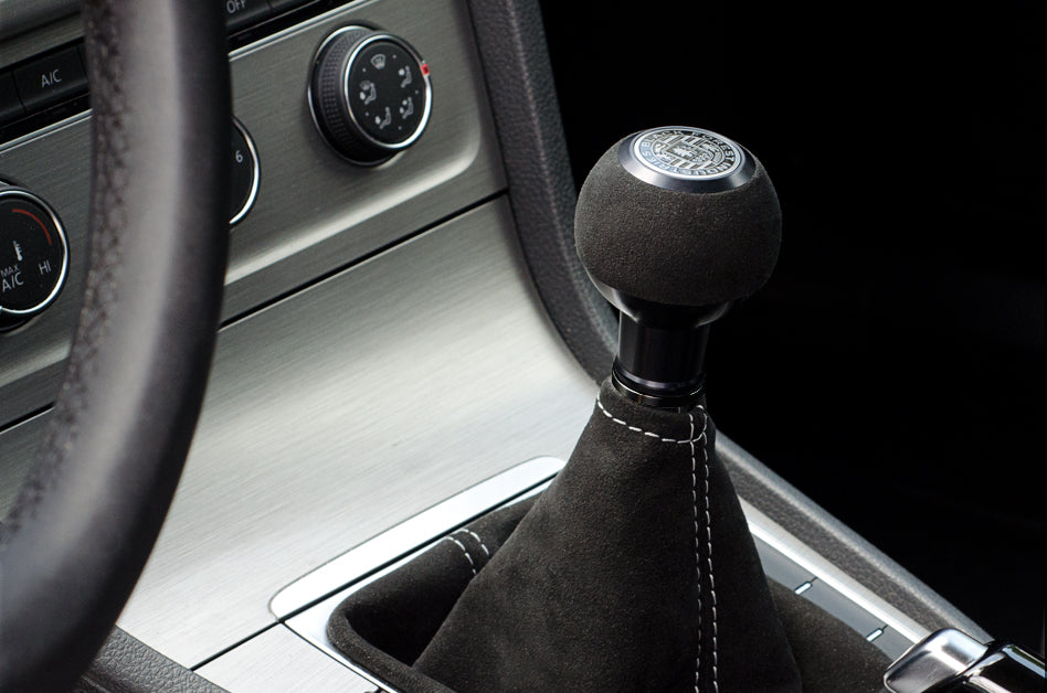 BFI Heavy Weight Shift Knob - Black Alcantara (VW/Audi Fitment)